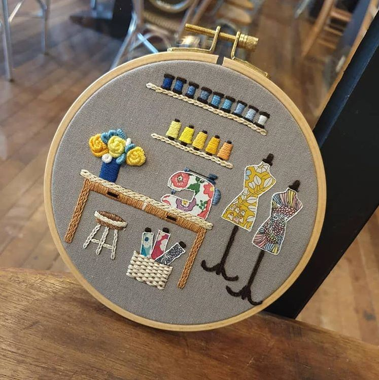 Joy Stitch embroidery