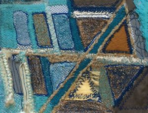 Machine Embroidery by Vicky O'Leary abstract