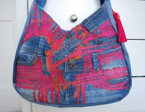 Bag designed by Vicky O'Leary