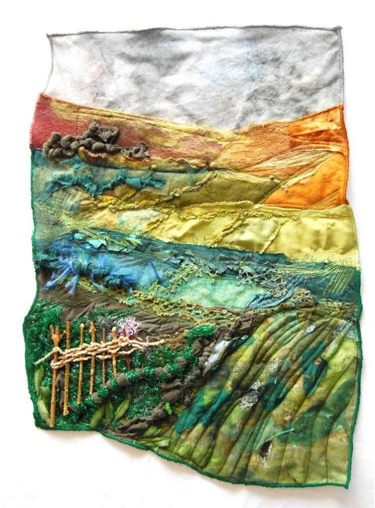 landscape machine embroidery