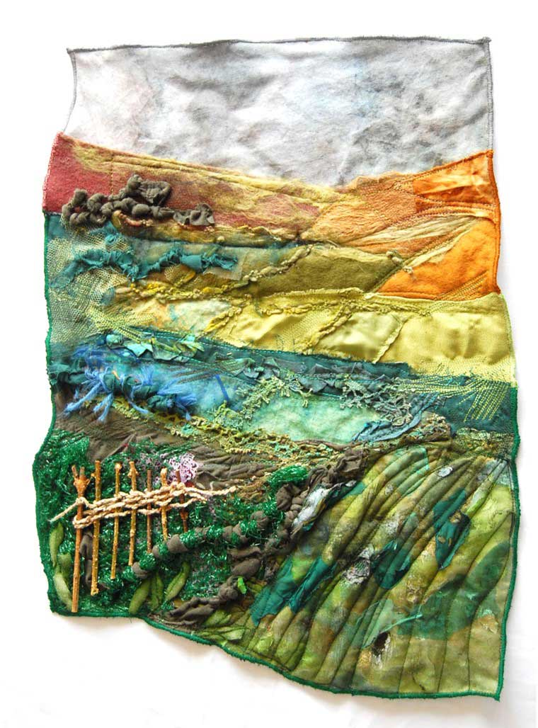 landscape machine embroidery
