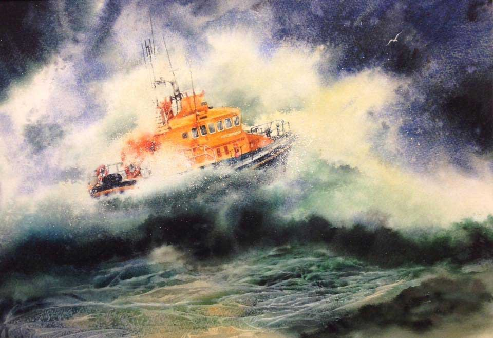 Lifeboat by Ruth Kid
