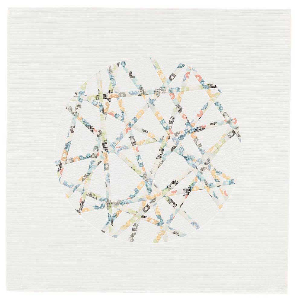 Modern Quilt, On the Ball by Brigitte Heitland