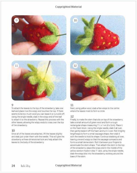 Needle Felting internal page preview