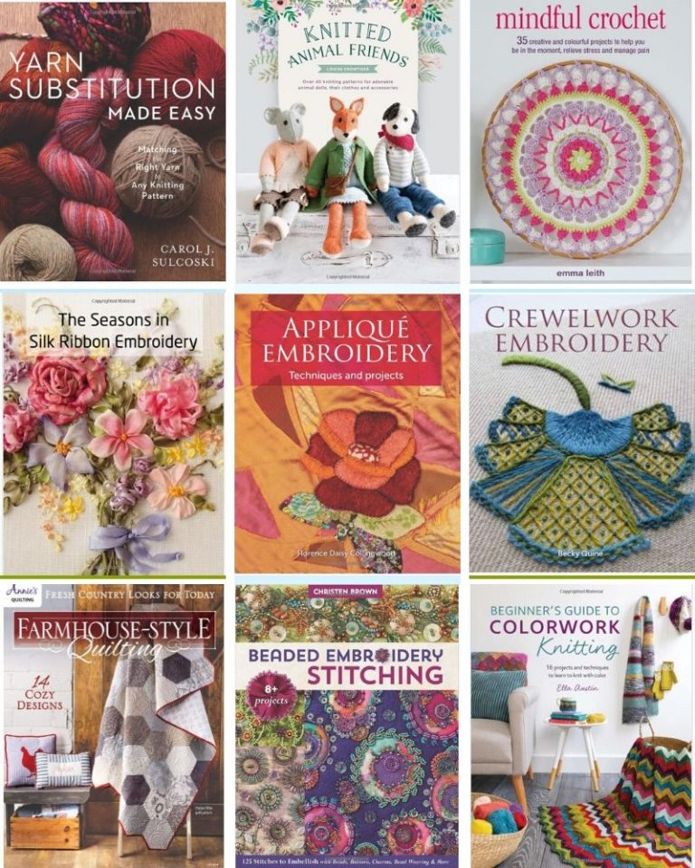 Textiles Craft books released early of 2019