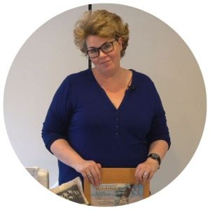 Gail Cowley, Machine Embroidery tutor at the School of Stitched Textiles