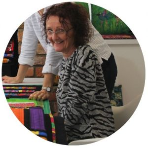 Janet Gledhill tutor of Learn Patchwork and Quilting