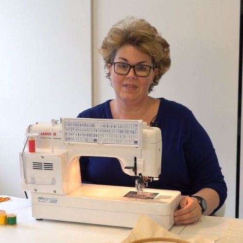 Gail Cowley teaches us how to learn Machine Embroidery