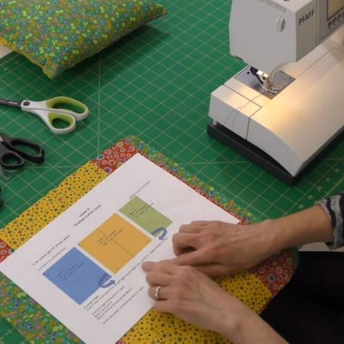 An extract fro the Learn Patchwork and Quilting course