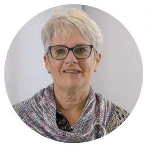 Knitting tutor, Sally Hart