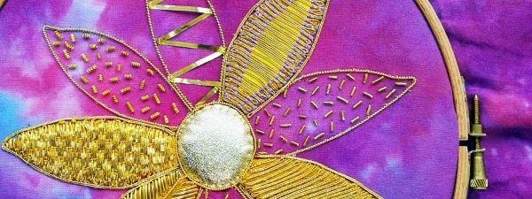 Hand embroidery courses by the School of Stitched Textiles ss3