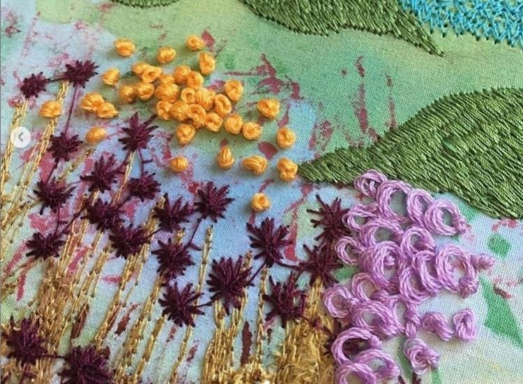 Hand Embroidery course, City and Guilds accredited, Skill Stage 2