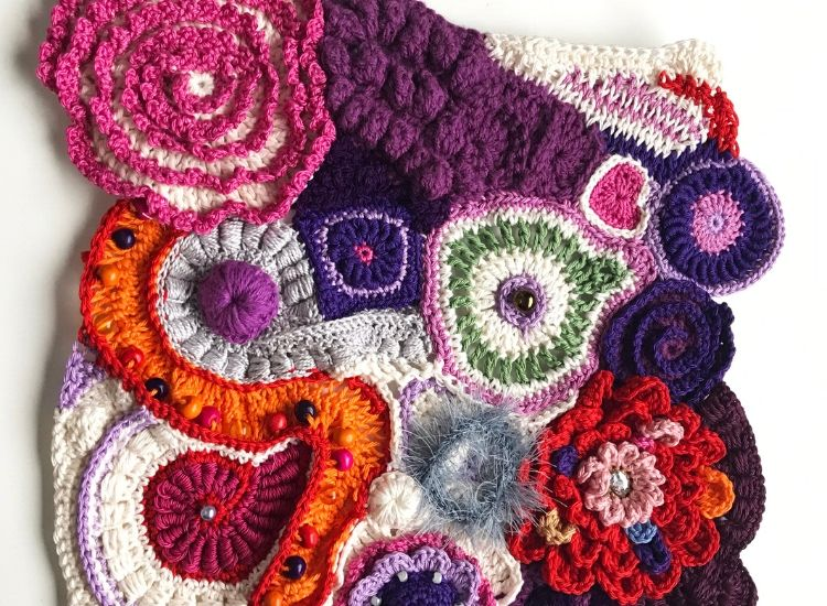 Crochet course accredited City and Guilds course skill stage 3