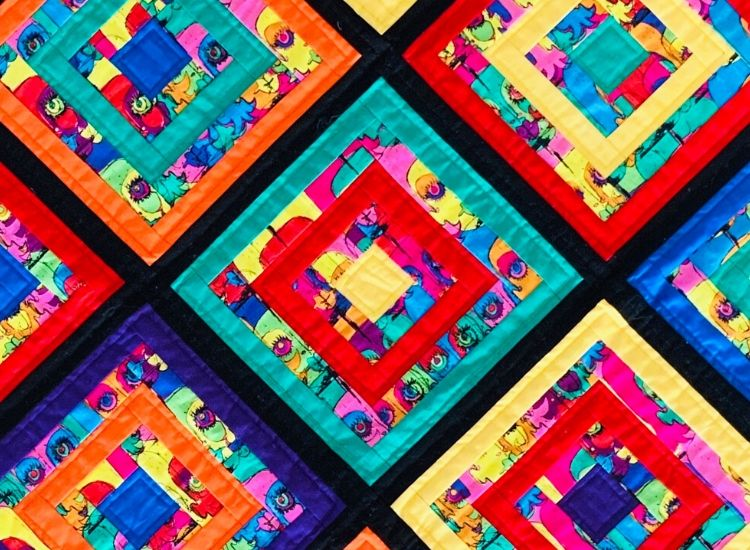 Patchwork and Quilting course accredited City and Guilds course skill stage 2
