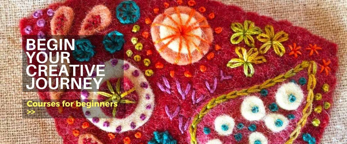 Beginner craft courses