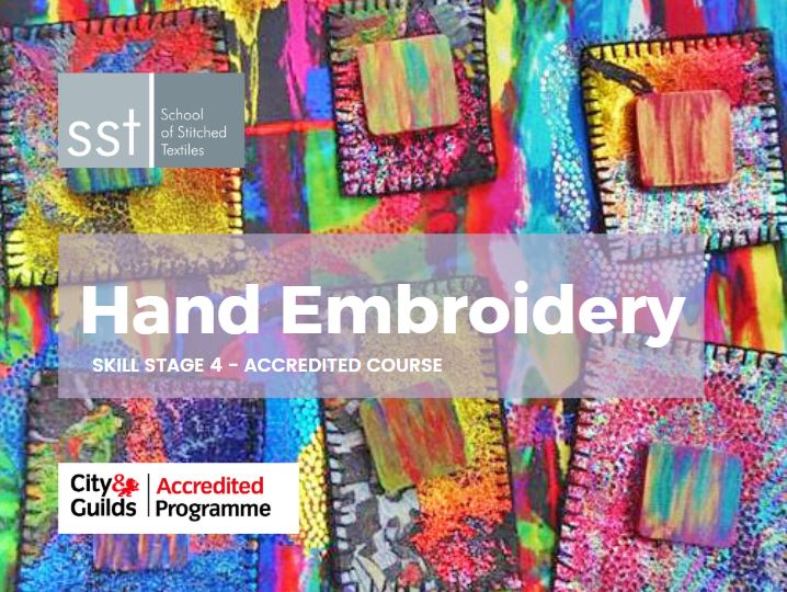 Hand Embroidery course brochure
