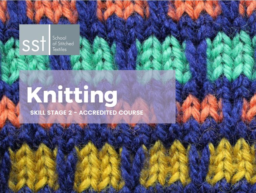 Accredited Knitting course SS2 course brochure