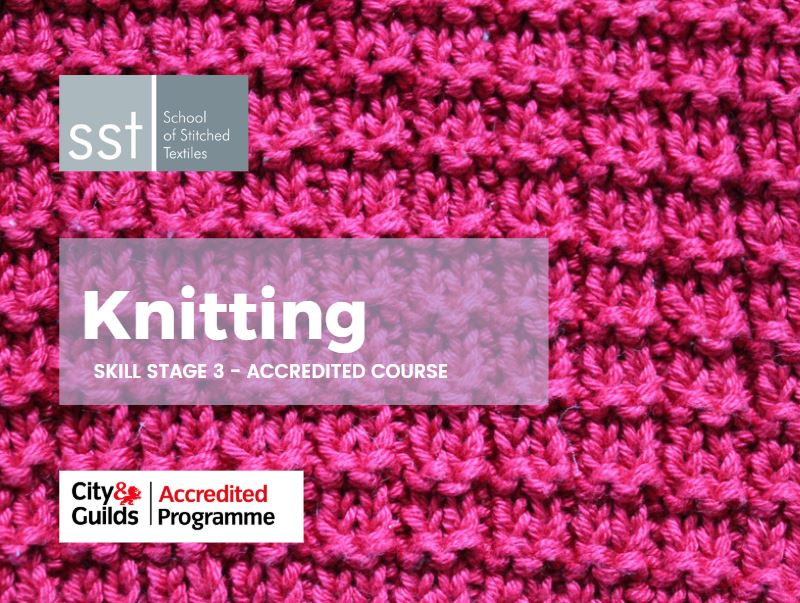Accredited Knitting course SS3 course brochure