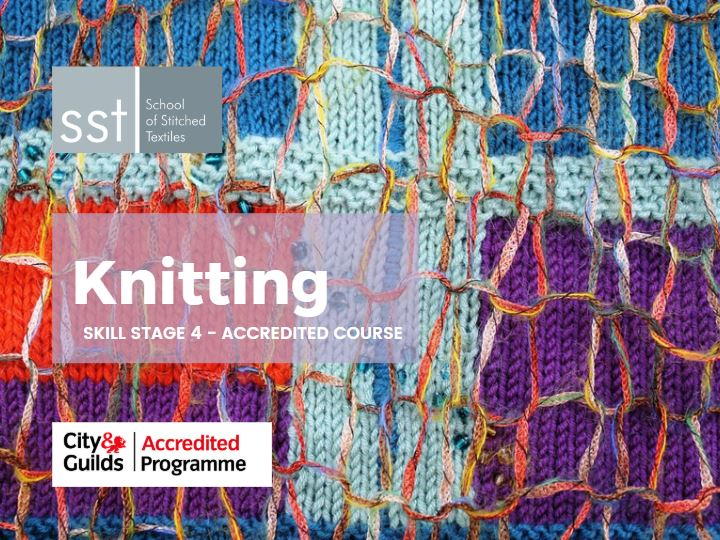 Accredited Knitting course SS4 course brochure