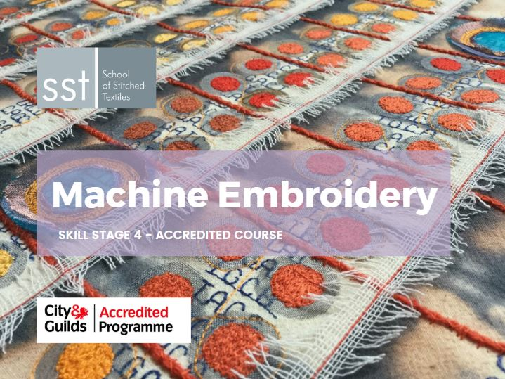 Machine Embroidery course brochure