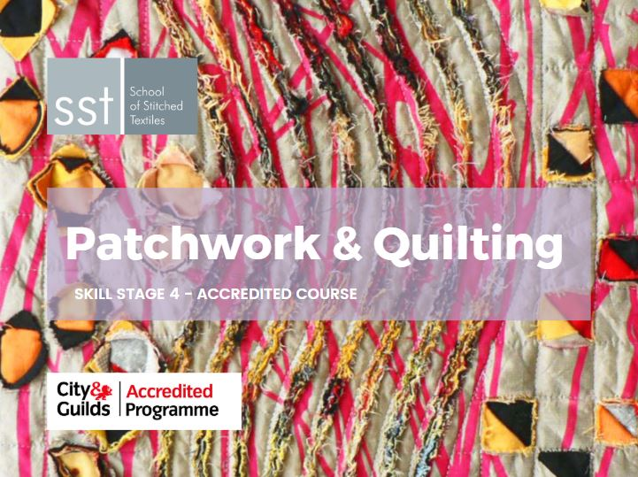 Patchwork and Quilt course brochure