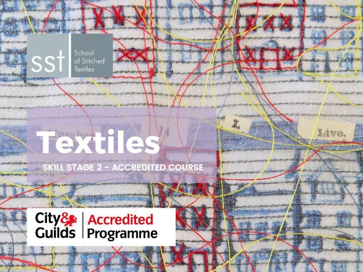 Textiles course brochure