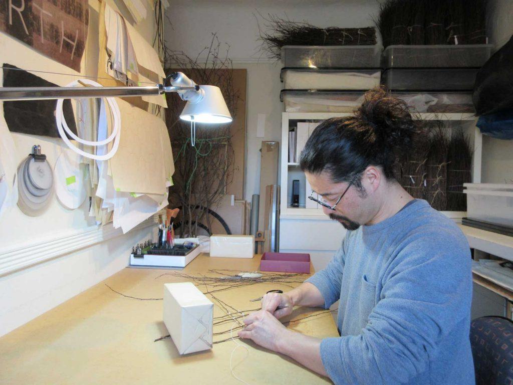 Kazuhito Takadoi working on KADO (Angel)
