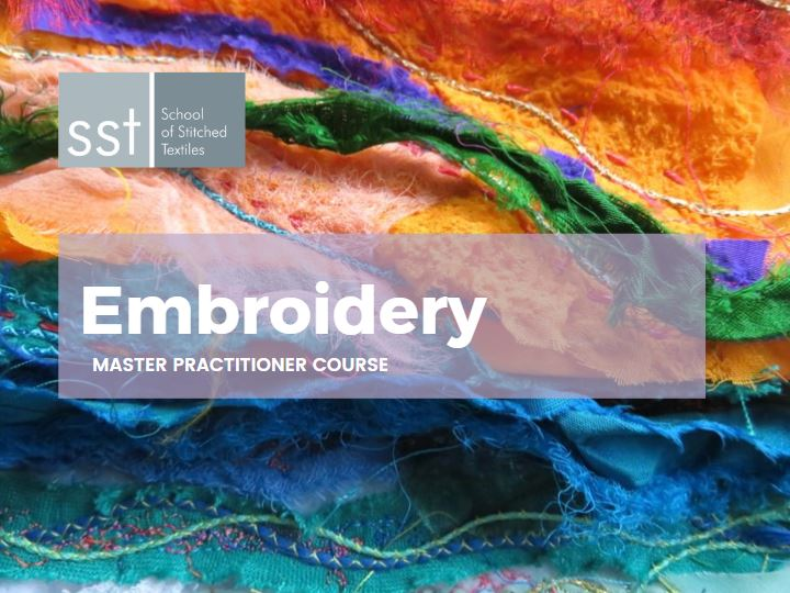Embroidery master course brochure