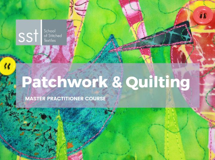 Patchwork and Quilting Masters level course brochure