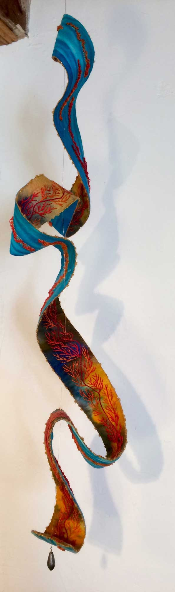 module one of the embroidery mast practitioner course at the school of stitched textiles