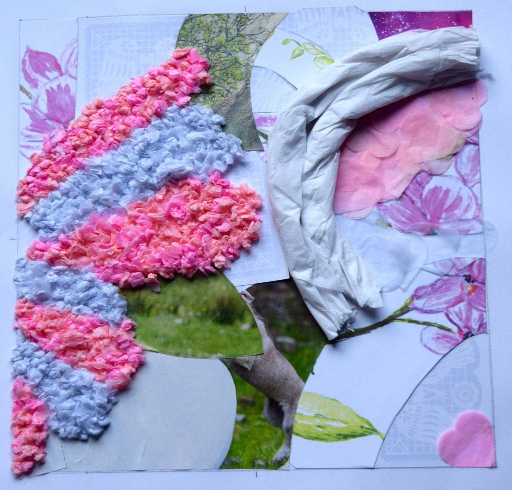 Finished knit design