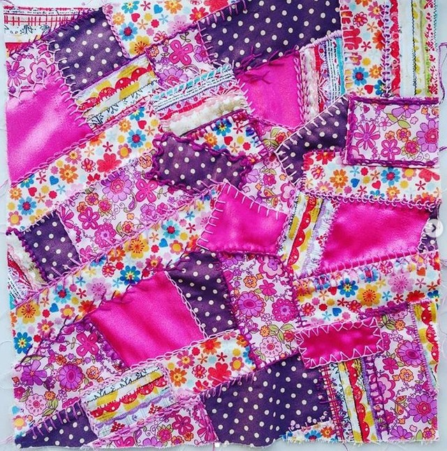 Patchwork and quilting sampler