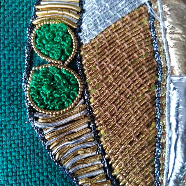 hand embroidery course by Sally-Ann Duffy