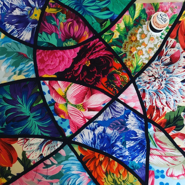 Stained Glass appliqué