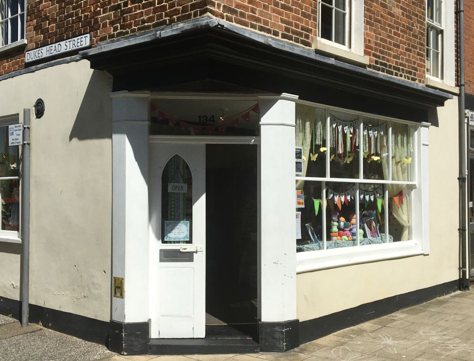 Our shop in Lowestoft