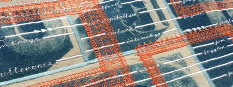Graduate Story: Rhiannon Robinson – Machine Embroidery