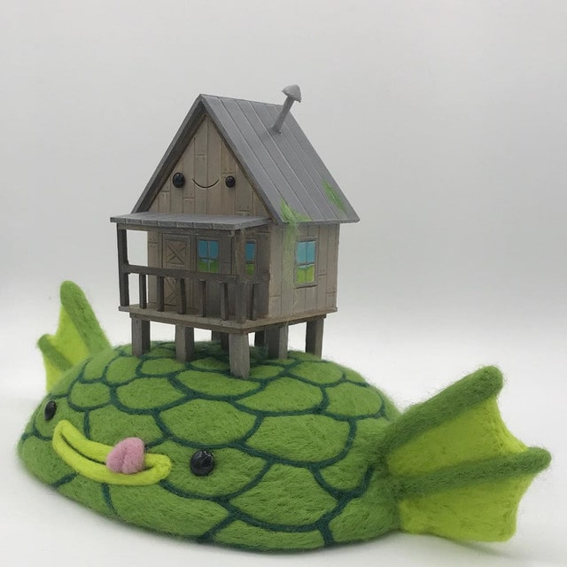 Ed Mironiuk is a contemporary felt artists you have to follow