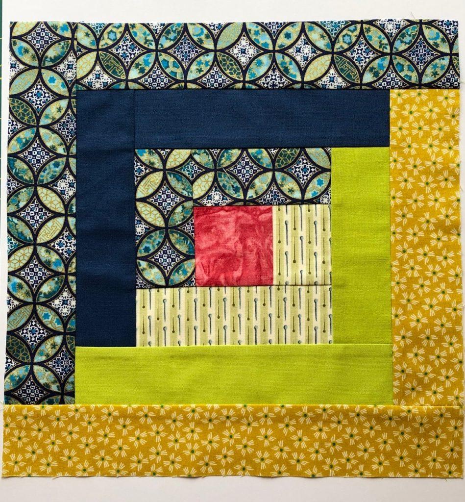 Patchwork and Quilting design by SST Graduate Karen Webber