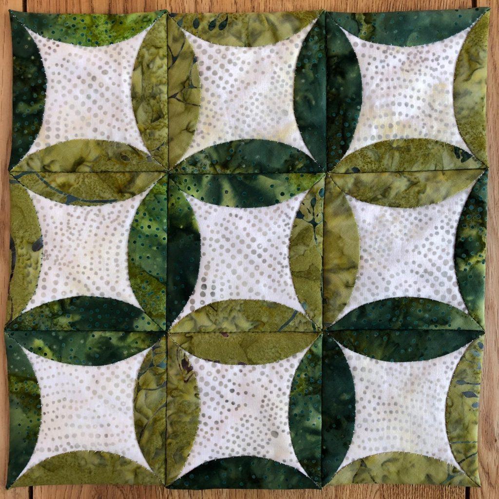 Patchwork sample by Karen Webber