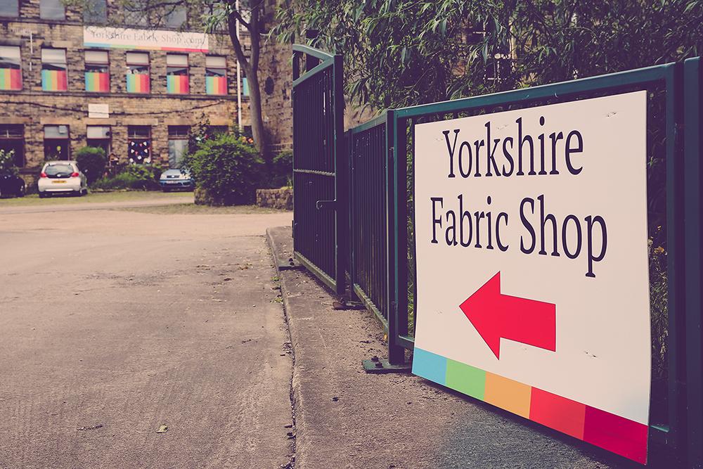 Visit Yorkshire Fabric Shop
