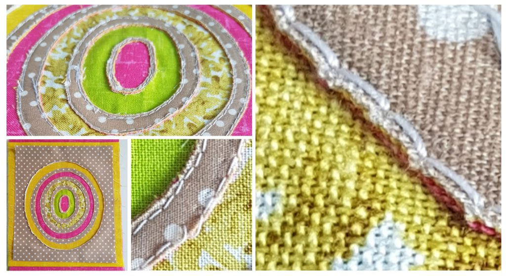 Textiles sample produced on Textiles course by Jane Freeman