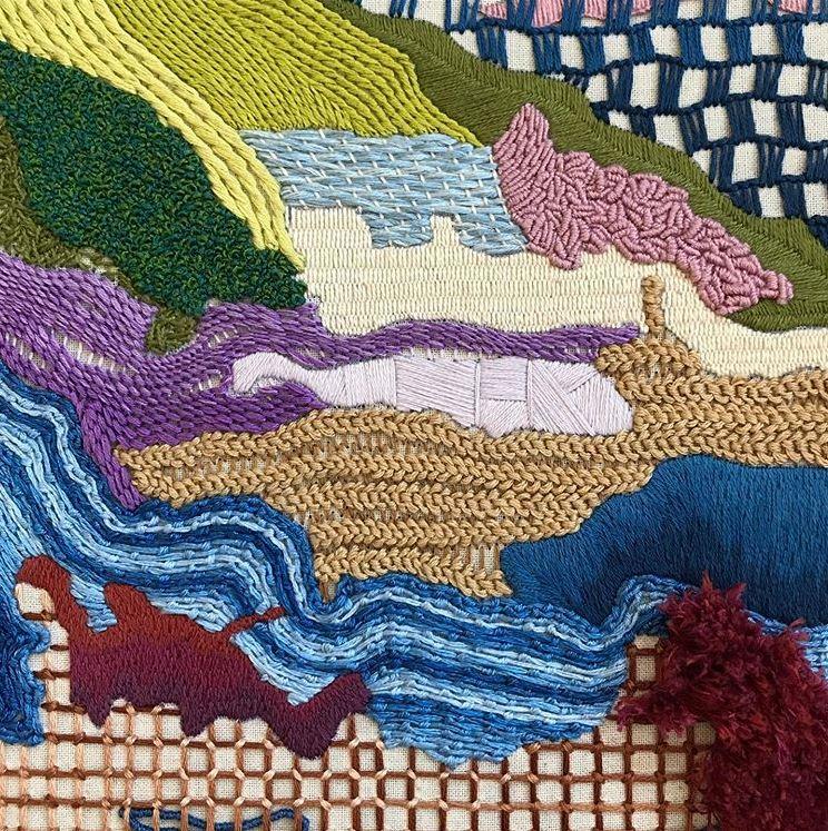 Stitch Samples by Sheena MC @stitchingthegirl