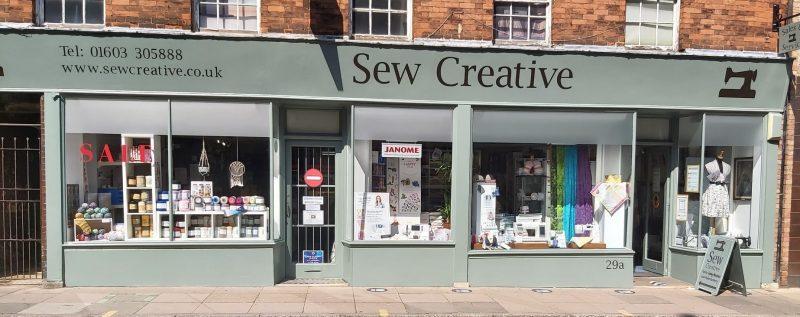 Sew Creative, The sewing centre Ltd