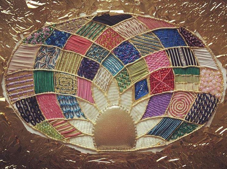Lois Stapleton Gold work sample