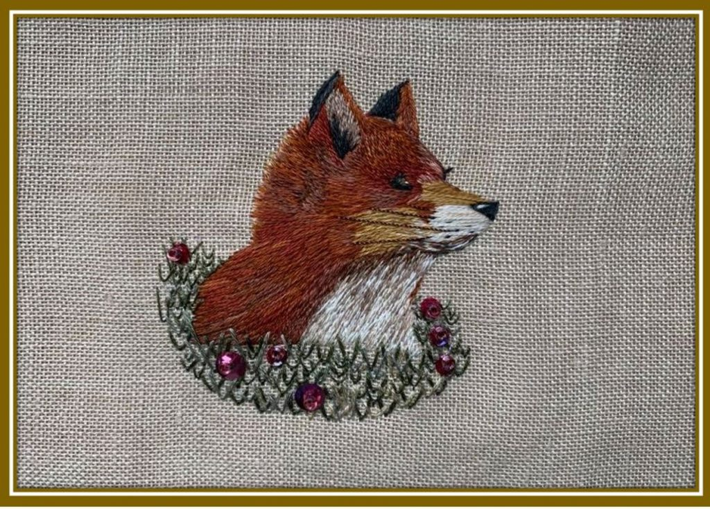 Thought Fox by Ann Alcorn