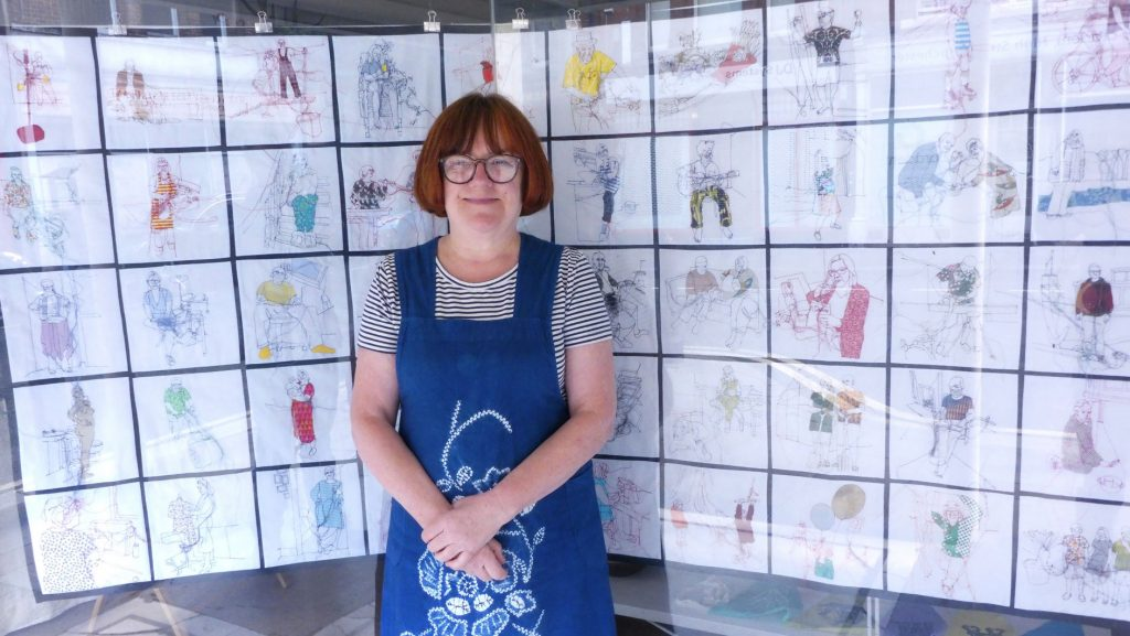Rosie James and her Covid 19 Isolation Portraits