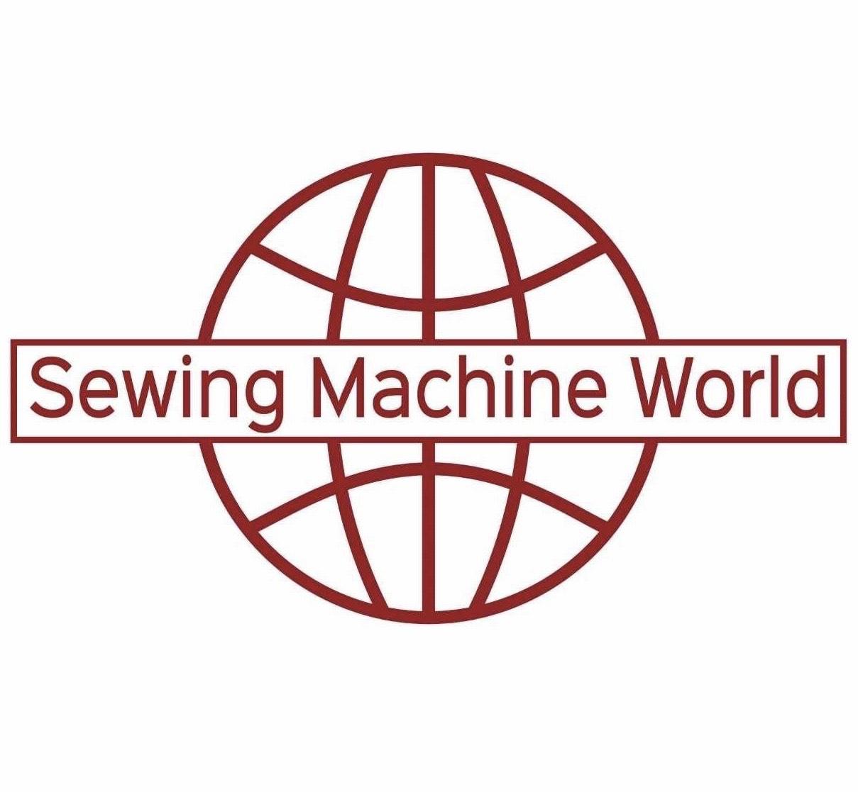 Sewing Machine World Logo