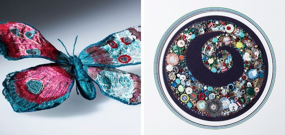 Emma Whitehead - Machine Embroidery