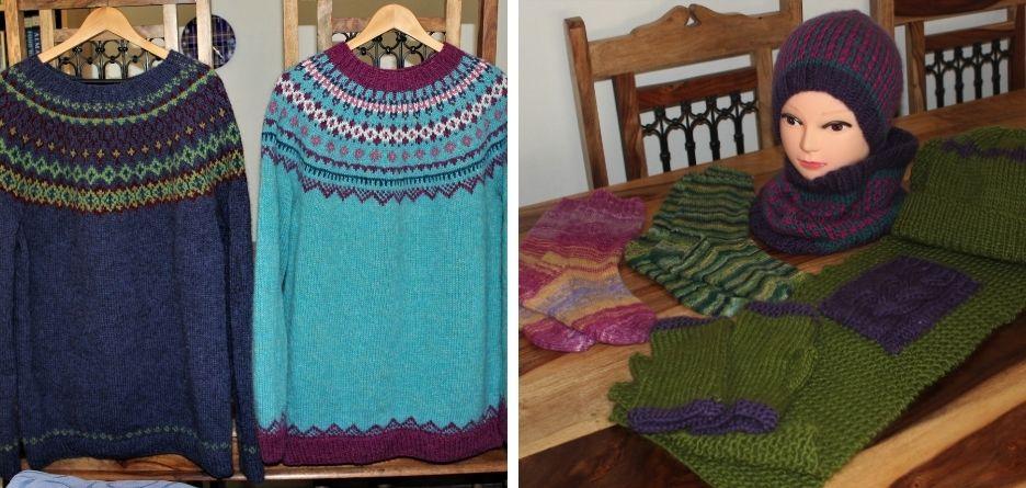 Rosemary Pearl Potter - Knitting