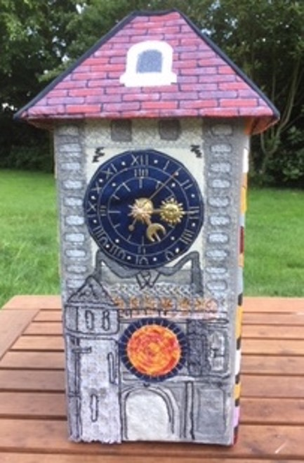 3D Patchwork Clock